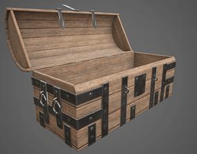 Medieval Chest 3D asset VR / AR ready