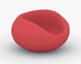 3D asset 0101 - Bean Bag Chair