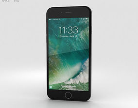 Apple iPhone 7 Black 3D