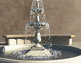 3D model Forester Demonstration Realflow Fountain
