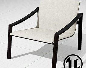 3D asset MolteniC Allure Chair UE4