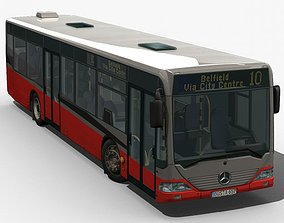 3D model City Bus - Mercedes Citaro textured