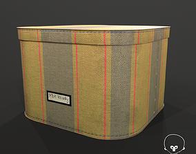 Designer Storage Box - used item 3D model