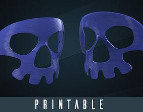 Printable Halloween Skull Mask