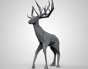 3D printable model animal art