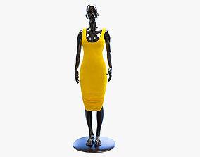 3D asset low-poly dress dummy