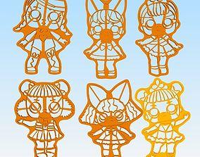 Lol Surprise Dolls 3D model cookies cutter