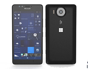 Microsoft Lumia 950 - Element 3D