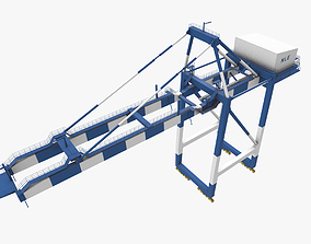3D model Sea Crane