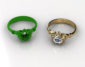Antique and Vintage Rings and Diamond Rings 3D print model