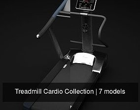 Treadmill Cardio Collection 3D