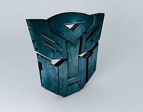 Transformers logo 3D