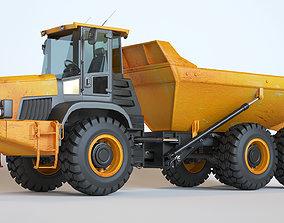 Articulated Dump Truck 3D mining