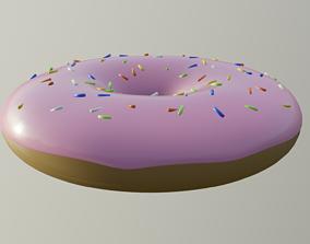 3D asset VR / AR ready Donut