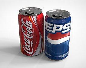 metal Soda can 3D model