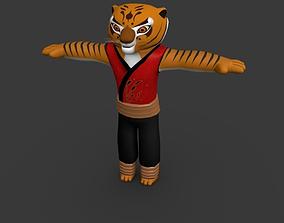 Tigeress-Kung Fu Panda 3D asset