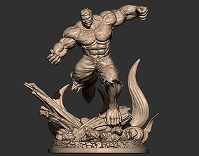 Hulk Angry - Super Hero - Marvel 3D printable model