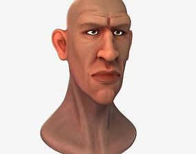 3D The Male Head
