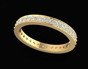 3D printable model 1503 Diamond Ring