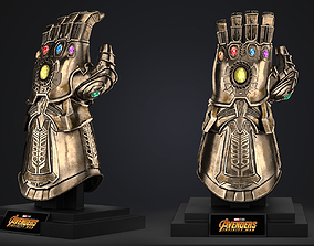 Thanos Infinity Gauntlet - Avengers Marvel 3D asset