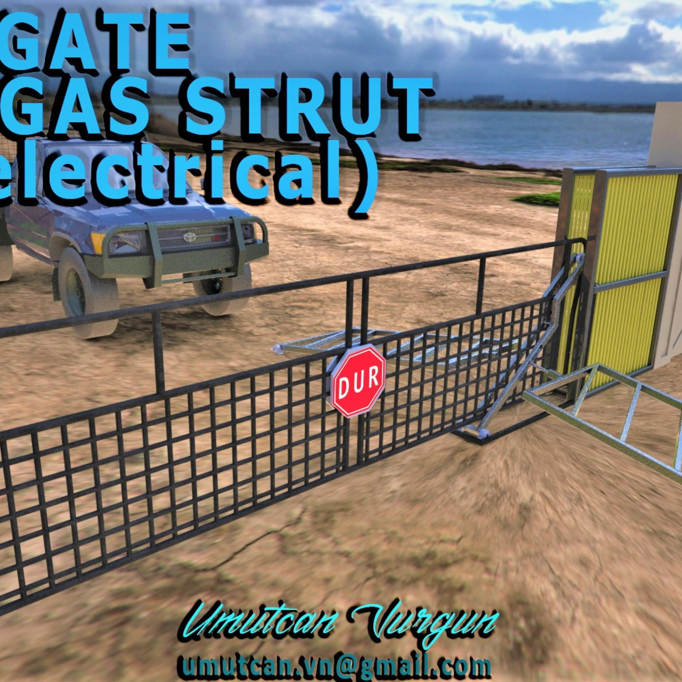 AUTOGATE (NON ELECTRICAL) with gas struct
