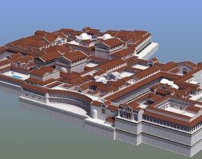 3D asset Ancient Palace Basic
