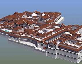 Ancient Palace Basic 3D model