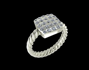 fashion-and-beauty ring fashion 3D print model