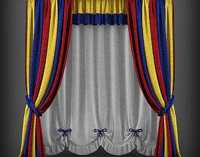 Curtain 3D model 65