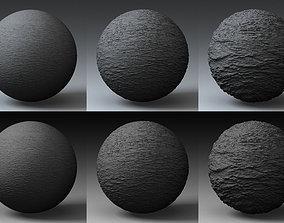 Displacement Landscape Shader 002 3D model