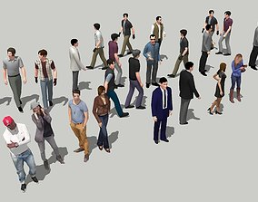 3d People casualpeople