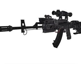 AK 47 Modified 3D model
