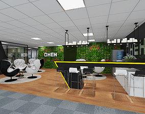Leisure Area office 3D model