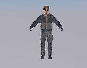 Colossus Militia Soldier 3D model