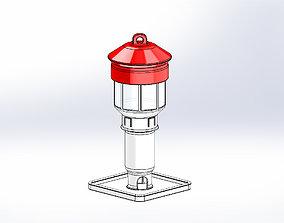 3D print model CARDINAL BIRD FEEDER