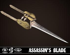 3D asset Assassin Blade 02