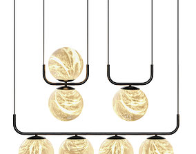 3D Tribeca Standing Lamps Part 1 by Alma Light