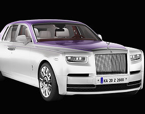 3D model Rolls Royce Phantom realistic