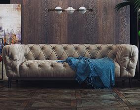 sofa Dokos 3D model