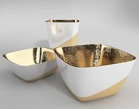 A Set of Minimal Tableware 3D