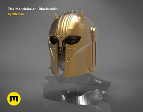The Mandalorian - blacksmith helmet 3D print model