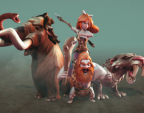 Ice Age Character Pack 3D asset