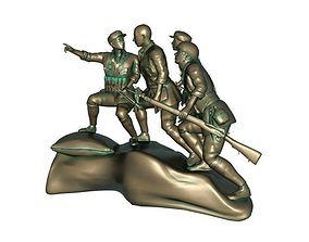 3D model john Red Army