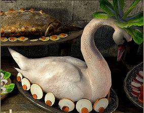 3D asset Medieval Feast