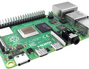 3D asset raspberry pi 4