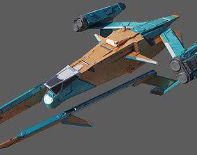 Space Fighter VORTEX 3D model