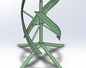 3D print model Darius windmill
