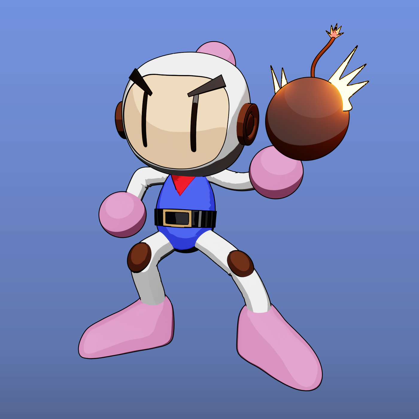 Toon Bomberman Fan Art