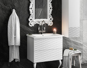 classic Bathroom Set 3D model