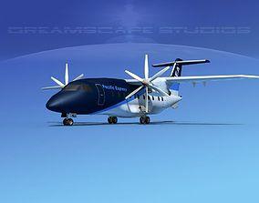 3D model Dornier Do-328-130 Pacific Express